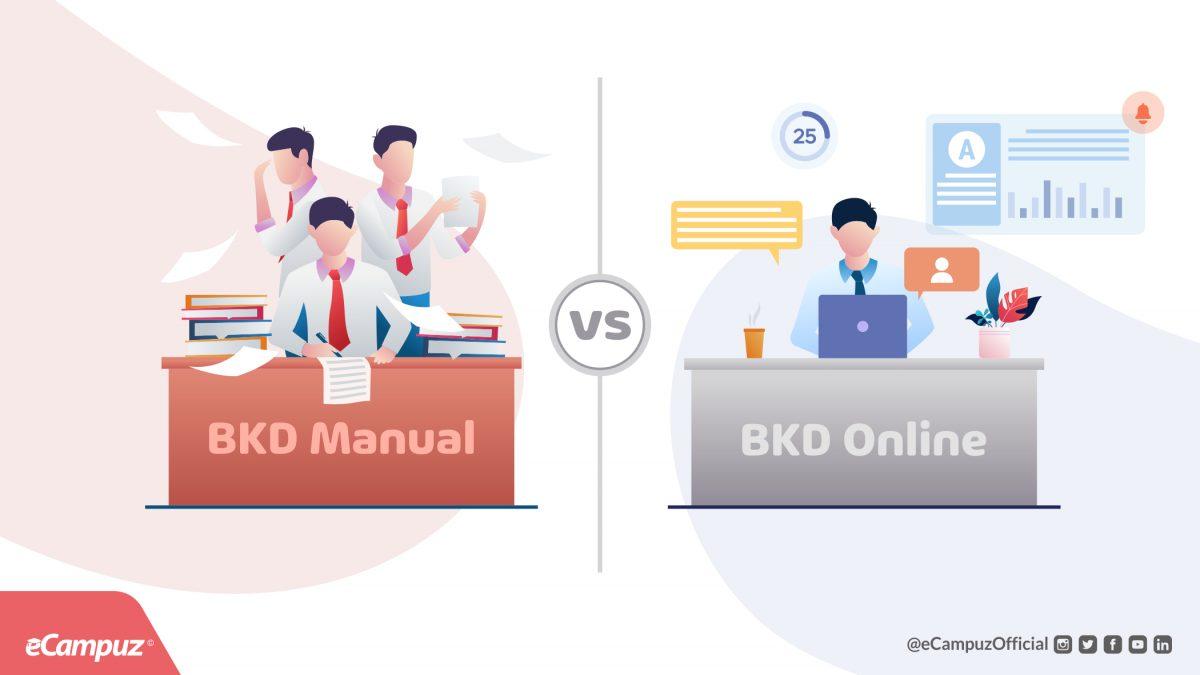 Perbandingan Laporan BKD Manual Vs Online