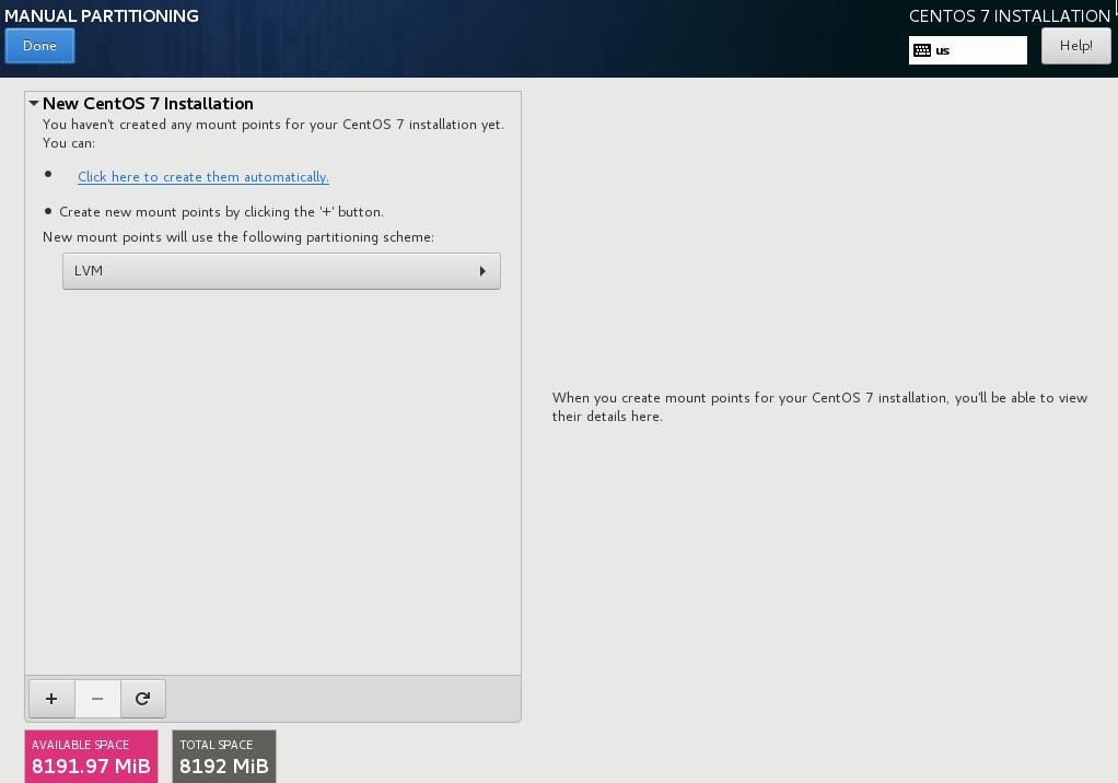 LVM Storage Setup pada CentOS