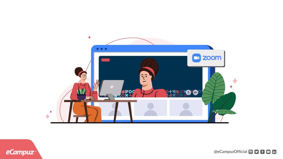 Tutorial Cara Set Background Saat Webinar Menggunakan Aplikasi Zoom